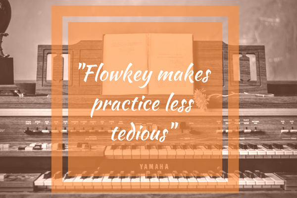 Flowkey makes learning to play piano less tedious
