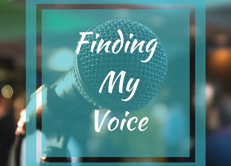 Finding my voice graphic